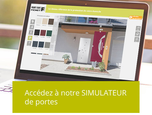 Simulateur pour porte blindée Fichet à Paris